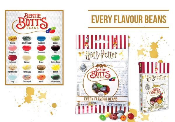 Конфеты Jelly Belly Harry Potter