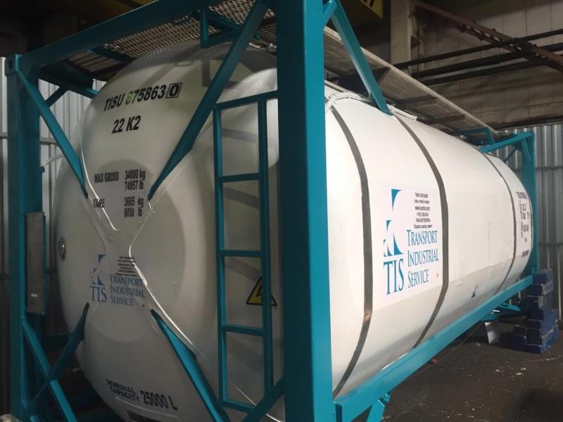 танк-контейнер цистерна 25000
